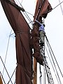 SB Ironsides stowing the topsail 7128.JPG