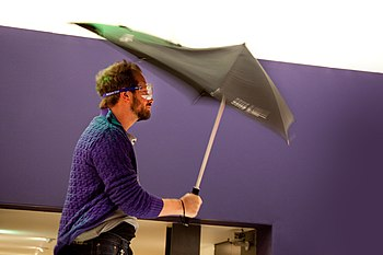 English: The SENZ umbrella, develloped at the ...