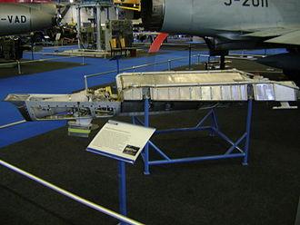 SEPR 84 - A SEPR 841 rocket pack at the Flieger-Flab-Museum