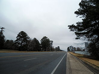Texas State Highway 322 - SH 322 near Lakeport