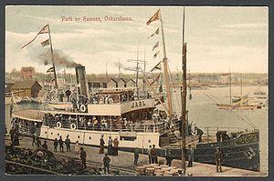 Oskarshamn Shipyard - Image: SS Jarl 1907