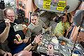 STS-131 Oleg Kotov, Mikhail Kornienko and Alexander Skvortsov.jpg
