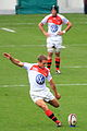 ST vs RCT 2012 12 Jonny Wilkinson kicking a penalty.jpg