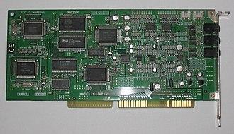Yamaha XG - Yamaha SW60XG ISA card