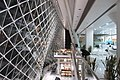 SZ Futian 深圳圖書館 Shenzhen Library interior escalators Dec-2017 IX1 07.jpg
