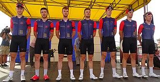 Team Wiggins Le Col - The WIGGINS team at the 2015 Grand Prix Pino Cerami