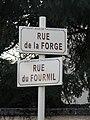 Saint-Jean-de-Thurigneux - Rue de la forge et rue du fournil.JPG