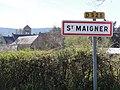 Saint-Maigner (Puy-de-Dôme) city limit sign.JPG