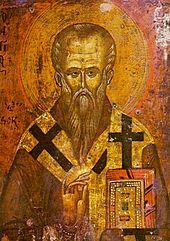 Icône représentant Saint-Clément d'Ohrid