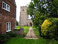 Saint Helen parish church, Gateley, 06 09 2010 (1).JPG