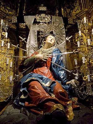 Our Lady of Sorrows - Image: Salamanca Iglesia de la Vera Cruz 12