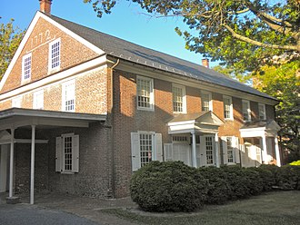 National Register of Historic Places listings in Salem County, New Jersey - Image: Salem Friends 1772