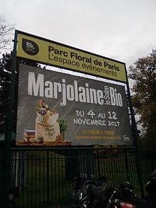 Nature et progr s wikip dia for Salon marjolaine