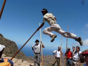 Salto del pastor - the Shepherd's Leap.