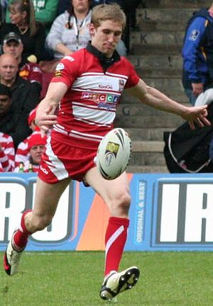 Sam Tomkins - Tomkins playing for Wigan in 2010