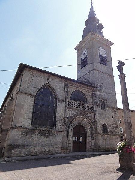 Sampigny (Meuse) église