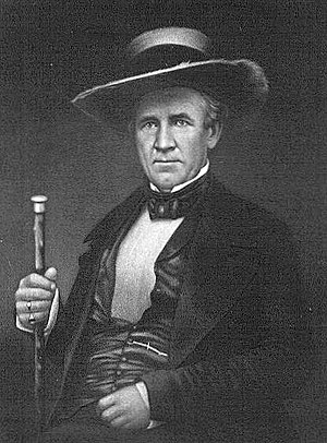 Sam Houston was named commander of the new Tex...