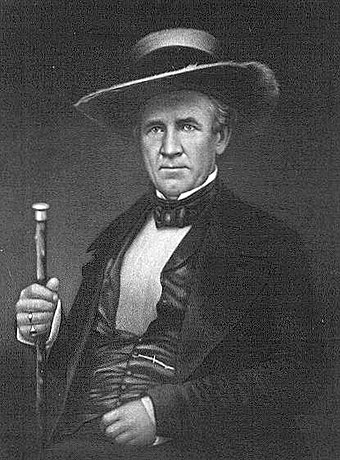 Sam Houston was Scotch-Irish (Ulster Scots) descent, and namesake for the city of Houston, Texas. Samuel houston.jpg