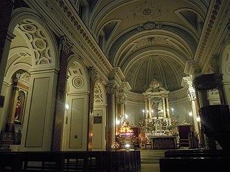 Morigerati - Image: San Demetrio Church in Morigerati (SA, Italy)
