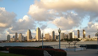 San Diego City in California, United States