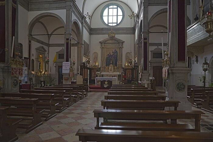 San Felice Chiesa, interno