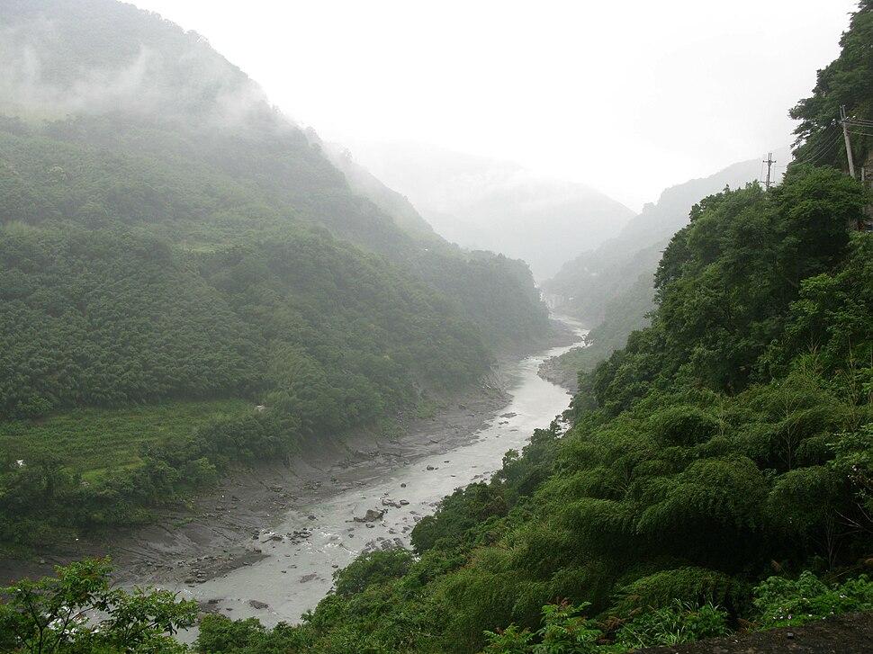 San Guang River, Fusing, Taoyuan, Taiwan - 20080601