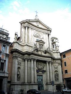 San Marcello al Corso church in Rome, Italy