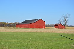Farmstead on State Route 96