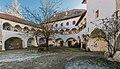 Sankt Veit Wayer Strasse 19 Schloss Weyer Hof Saeulenarkaden 14122016 5619.jpg
