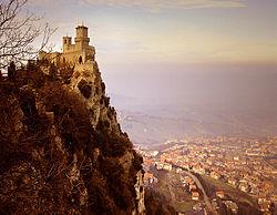 Vista de San Marino.