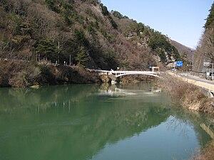 Ikusaka, Nagano - Sanseijibashi bridge
