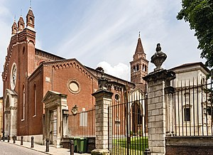 Santa Corona, Vicenza - Image: Santa Corona (Vicenza)