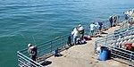 Santa Monica Pier Fishermen (15386868037).jpg
