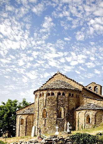La Baronia de Rialb - The Medieval church of Santa Maria in Palau de Rialb, La Baronia