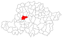 Location of Sântana
