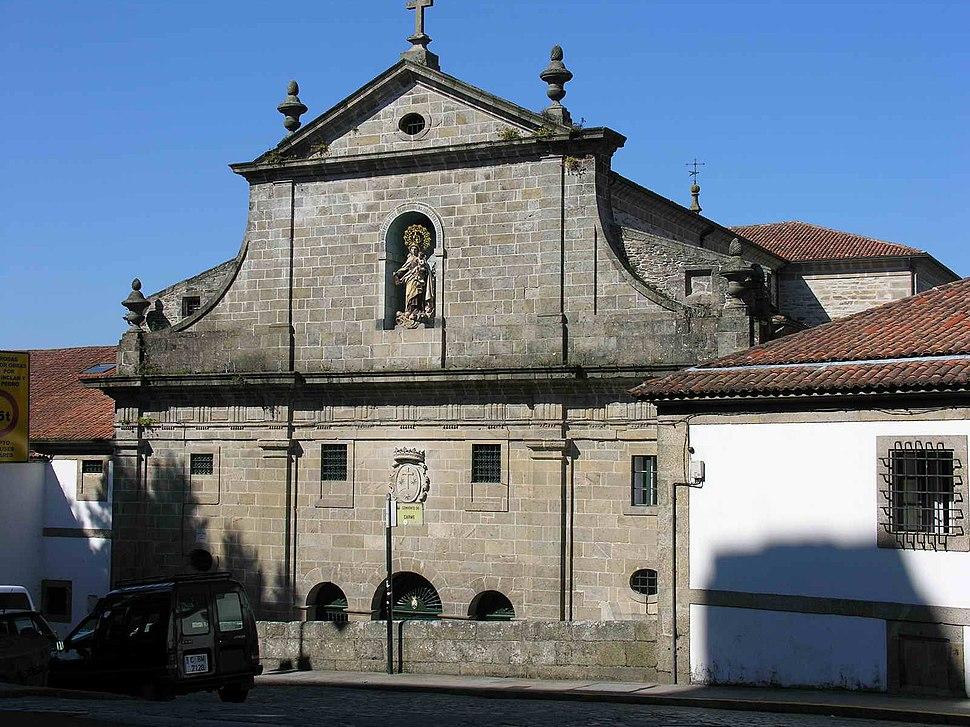 Convento do Carme de Arriba, Santiago de Compostela.