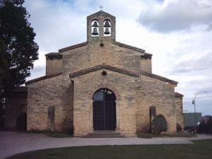 Oviedo - San Julián de los Prados (Pre-Romanesque shrine)