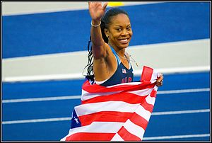 2009 World Championships in Athletics – Women's 400 metres - Sanya Richards won her first major championships in Berlin