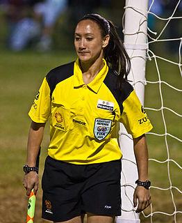 Sarah Ho Australian soccer referee