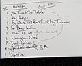 Sarah Partridge and Trio - set list.jpg