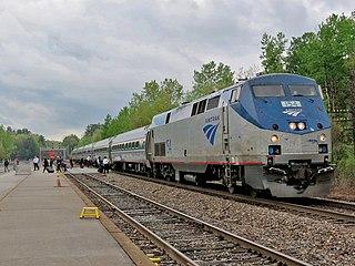 <i>Adirondack</i> (train) Amtrak service between Montreal and New York