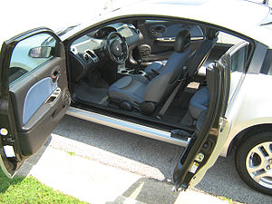 "Saturn Ion - ""suicide"" doors"