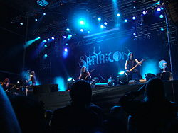 Satyricon beim Metalcamp 2007