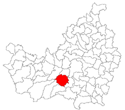 Location of Săvădisla