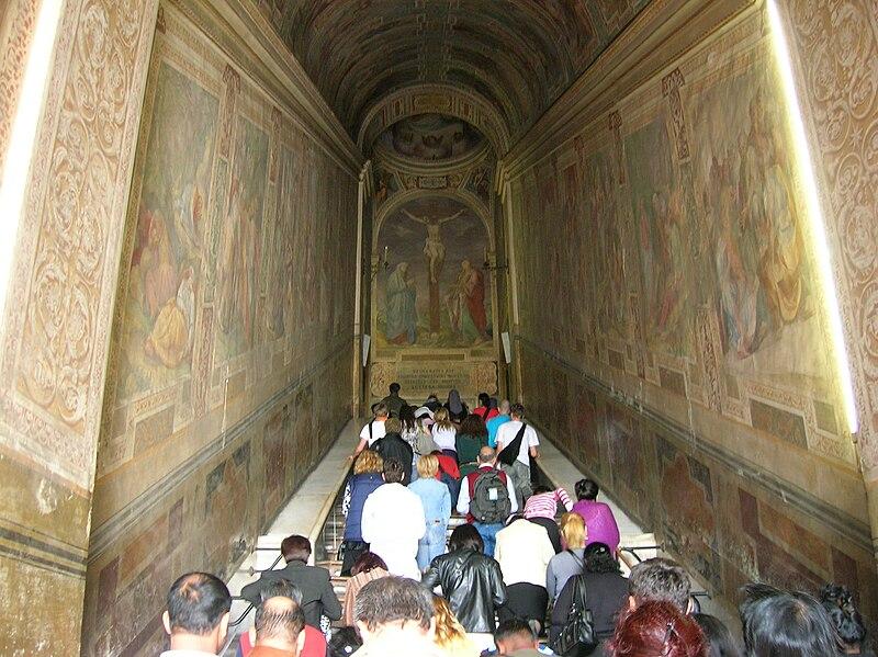Objetos de Jesus em Roma