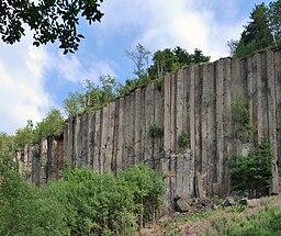 Scheibenberg Basaltsäulen