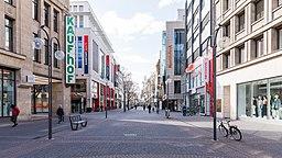 Schildergasse, Köln - Samstagnachmittag während der COVID-19-Pandemie-5868