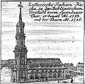 Schleuen - Luthersiche Sophien-Kirche 1757.jpg