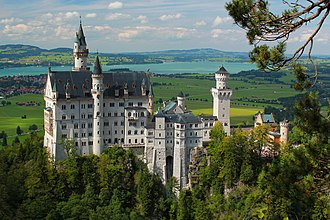 Sleeping Beauty Castle - Neuschwanstein Castle