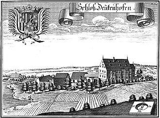Michael Wening - Image: Schloss Deutenhofen Michael Wening